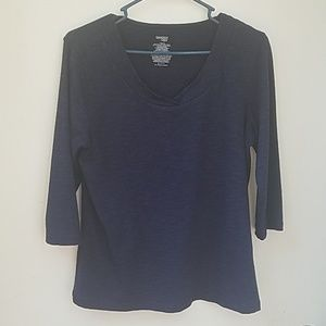 Danskin now large blue top